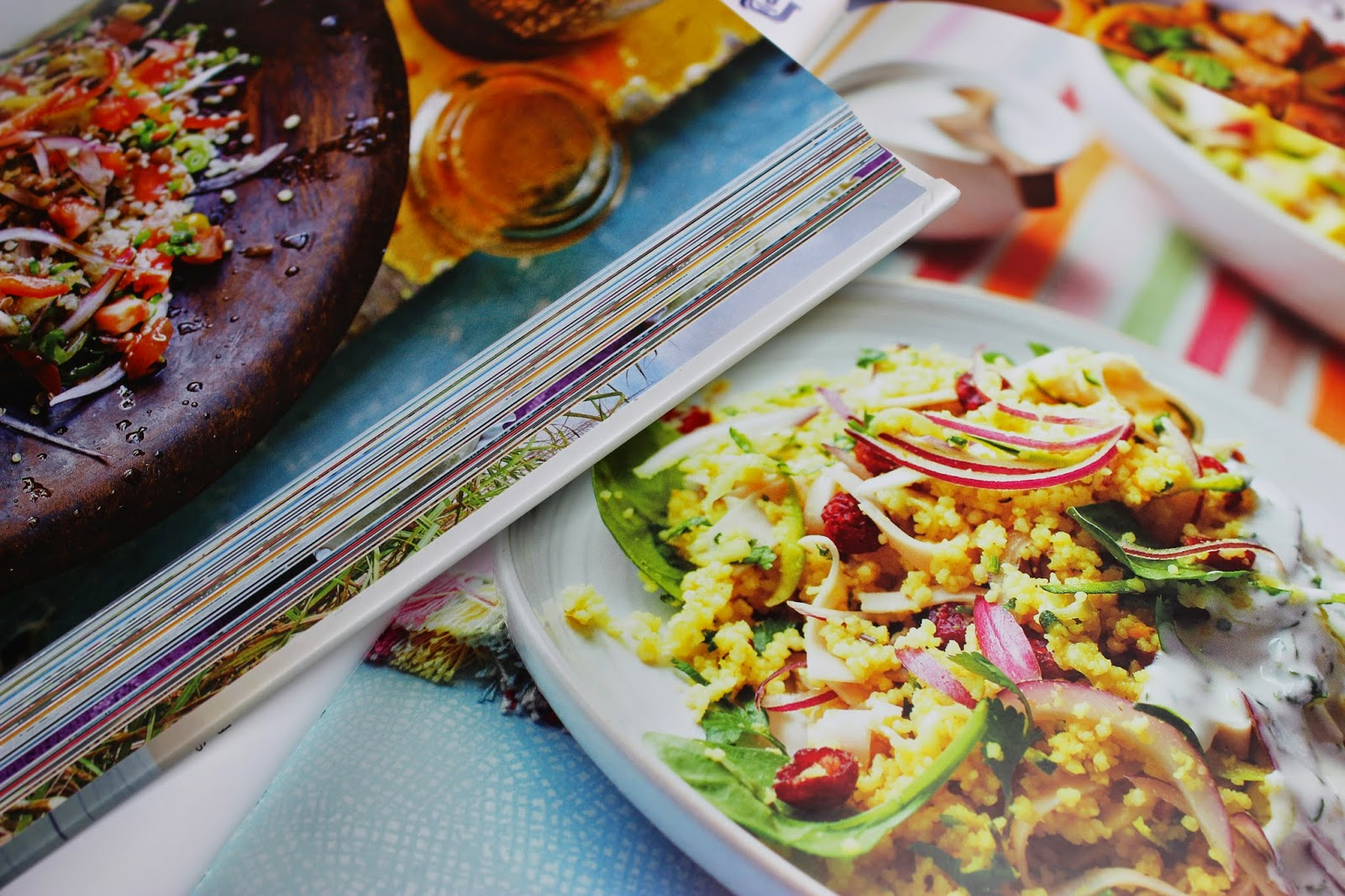 Healthy cookbooks with tasty recipes