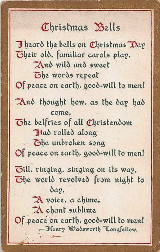 Nothing But Limericks: I Heard The Bells On Christmas Day ...