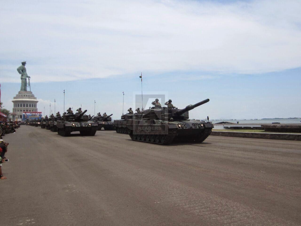 Cara TNI AD Merawat Persenjataan Modern