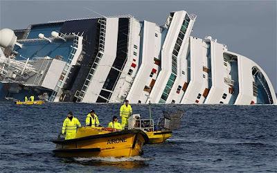 La catastrophe d'un paquebot de croisière – Métaphore et Présage ? dans Opinions 1