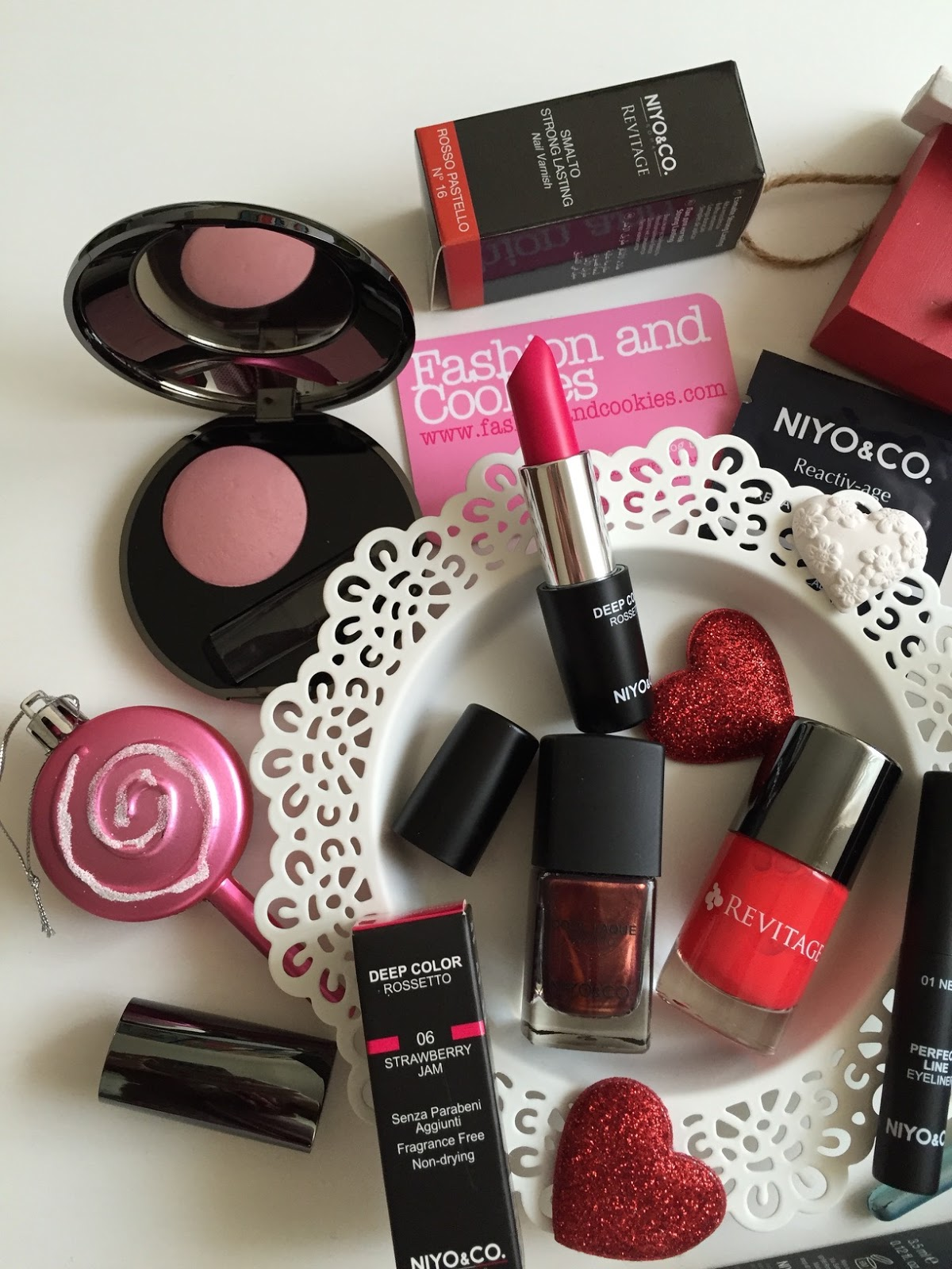 Niyo&Co. italian make-up: haul su Fashion and Cookies beauty blog, beauty blogger