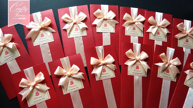 Handmade Chinese Wedding Cards Mlalaysia