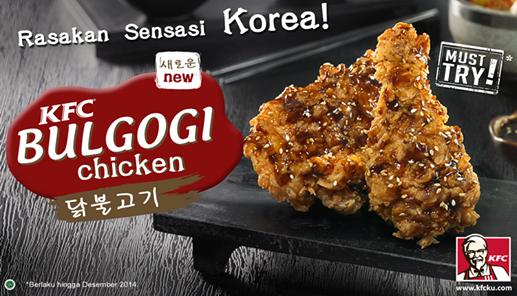 KFC, KFC Bulgogi Chicken,
