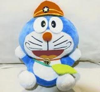 Boneka doraemon lucu dan gemesin