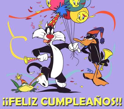 Looney Tunes feliz cumpleaños