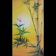 """Sunset Bamboo"",  mat size 32""x20"" (sold 2010)"