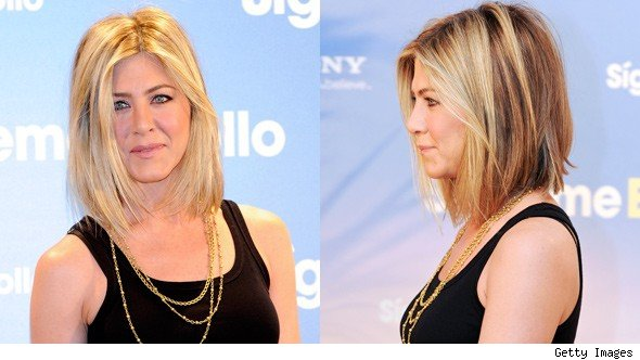 jennifer aniston haircut short. Jennifer Aniston Haircut
