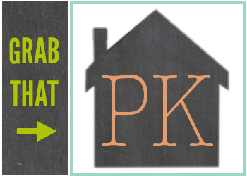 THE PK HOUSE BUTTON