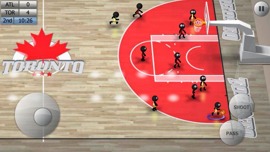 Android Stickman Basketball Apk resimi 3