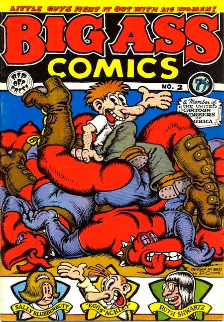 Comic big ass