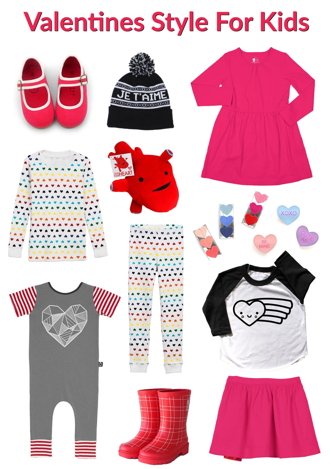 Valentine's Style for Kids