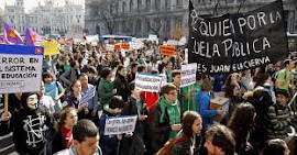 Protestos na Espanha
