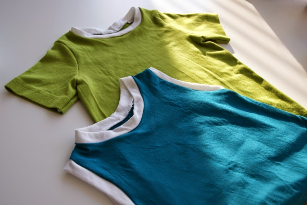 basic tee and muscle tee (pattern Made)