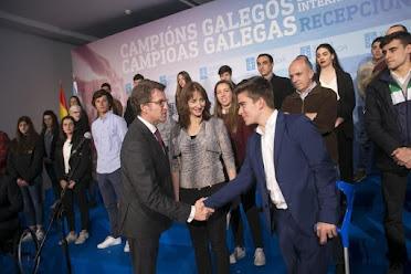 Feijóo avanza unha partida de 500.000 euros para recoñecer os méritos dos deportistas galegos