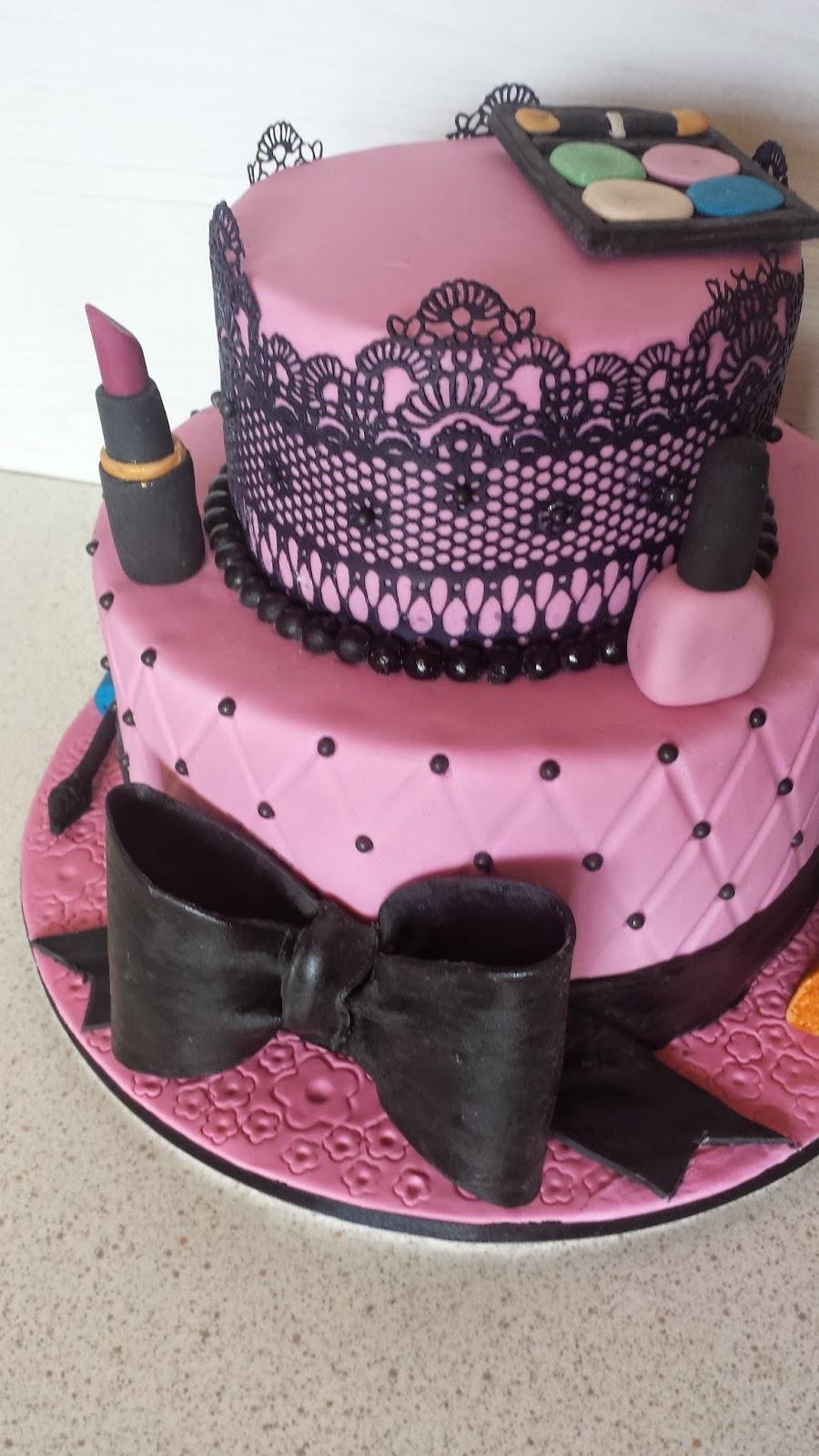 Lieblingstorte Make Up Torte Zum 18geburtstag