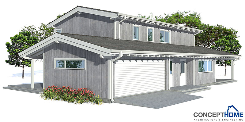 Affordable home plans modern affordable home ch123 for Affordable modern house plans