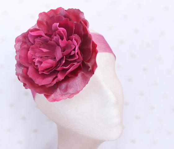 Colección Pedaleando - Banda Crin Flor Granate