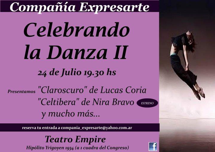 Celebrando la Danza II - Ciudad de Buenos Aires