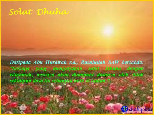 Sembahyang Sunat Dhuha