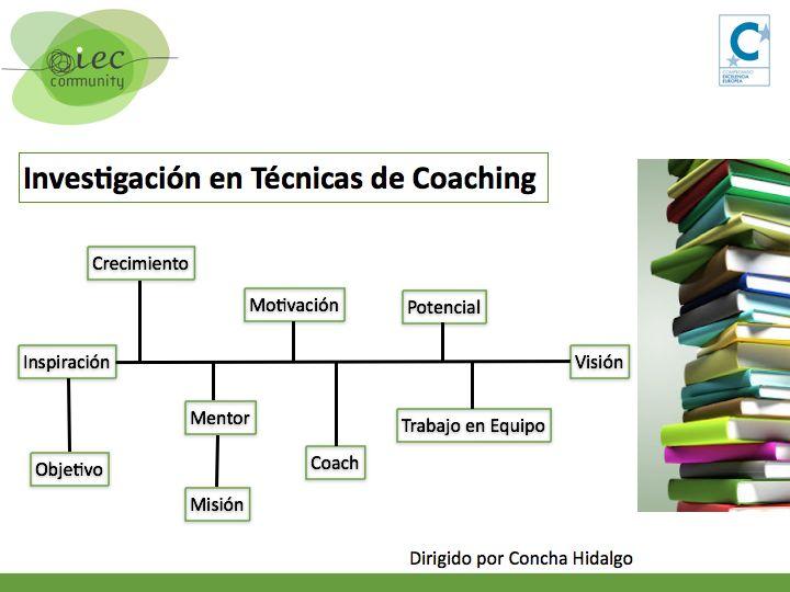 coaching investigaci n en t cnicas de coaching