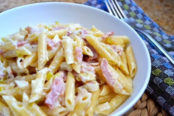 Diary of Lovely: Make it: Pasta with Pancetta and Leeks