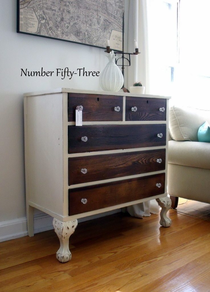 two tone painted furniture inside twotoned antique dresser number fiftythree