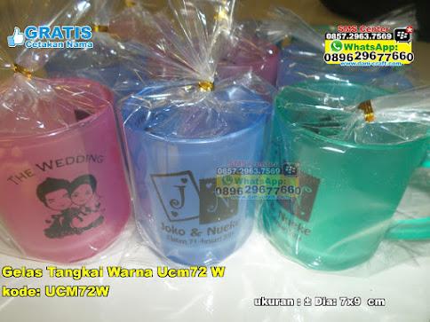 Gelas Tangkai Warna Ucm72 W unik