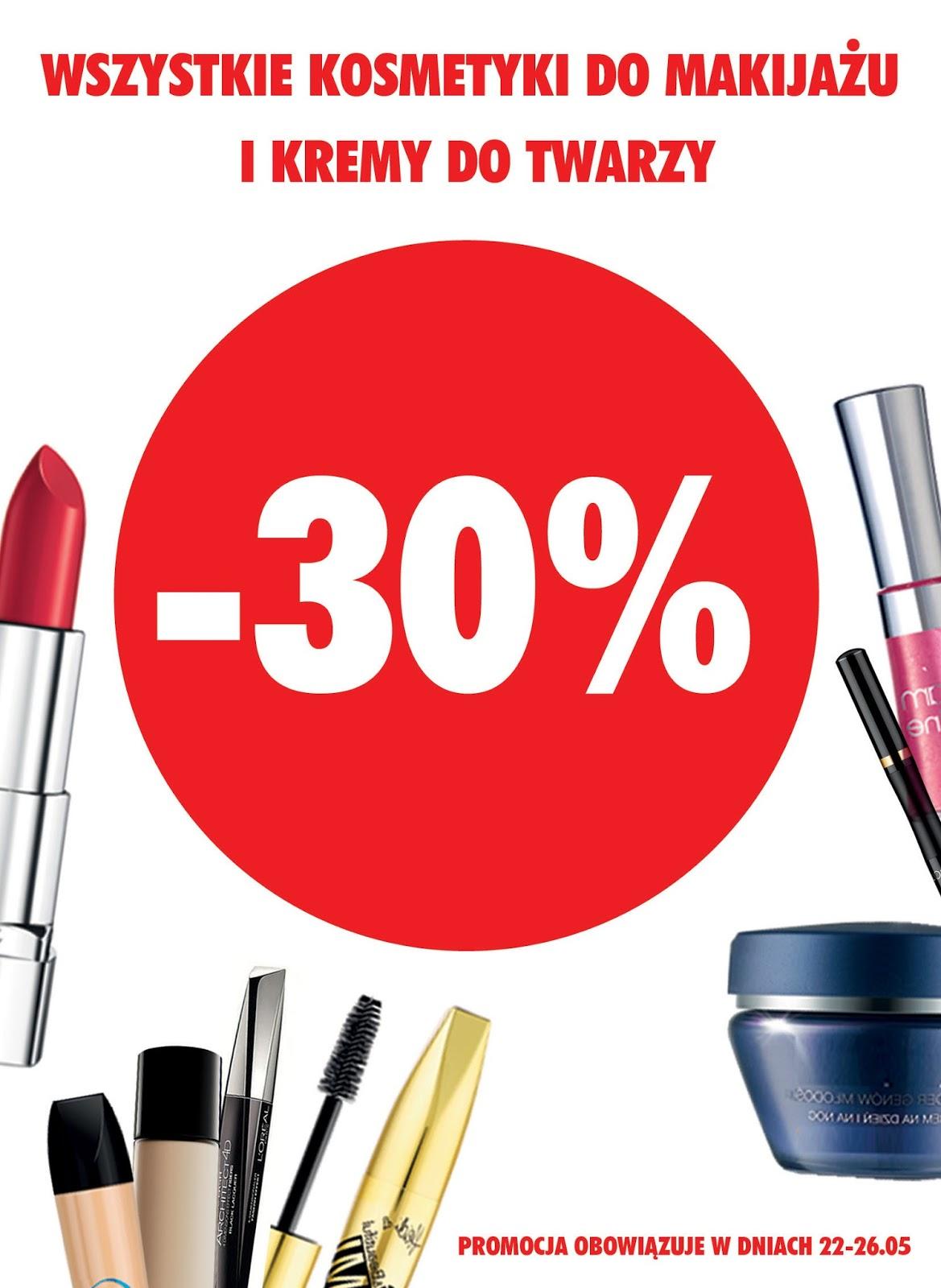 25a6bea5bdc3 Nie-codzienna  Super-Pharm promocja -30% na wszystkie kosmetyki do makijażu  i kremy do twarzy