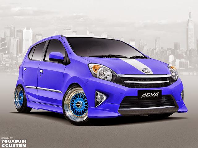 Harga Rp.125 juta untuk Toyota Agya Tipe Tertinggi