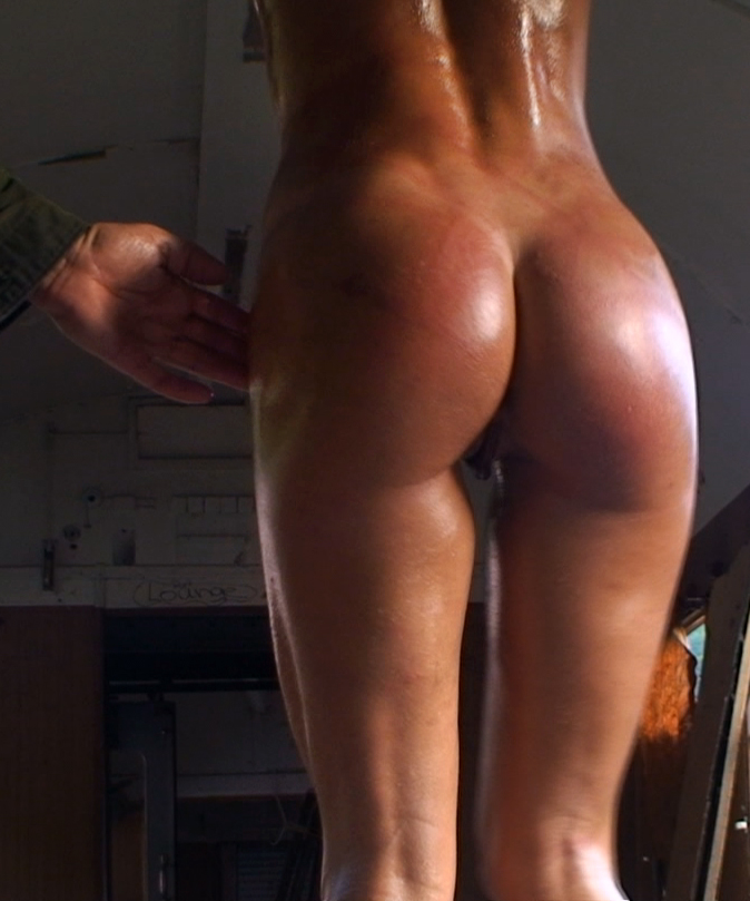 Kristina blond bdsm slave whipping
