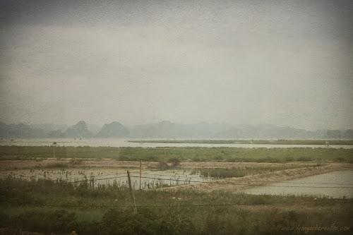 Halong bay from afar
