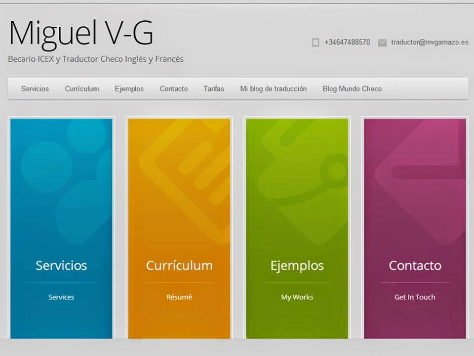 Web de Miguel Valentín-Gamazo