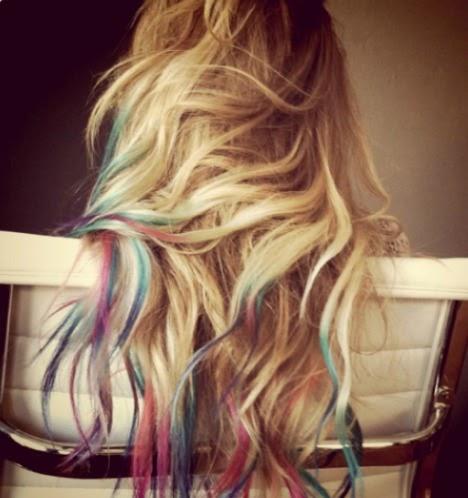 Trending Topic Rainbow Hair Get Glam Or Die Trying