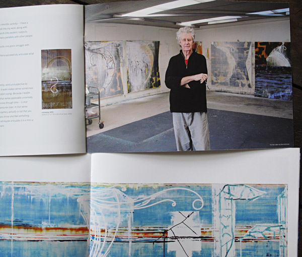 Catalogue shot, John Firth-Smith, 2011 Show at John Buckley Gallery Richmond Victoria.