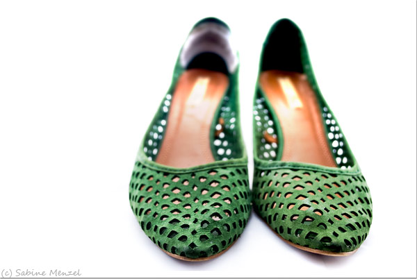 Psynopsis MyFavouriteThings Green Zara Pumps