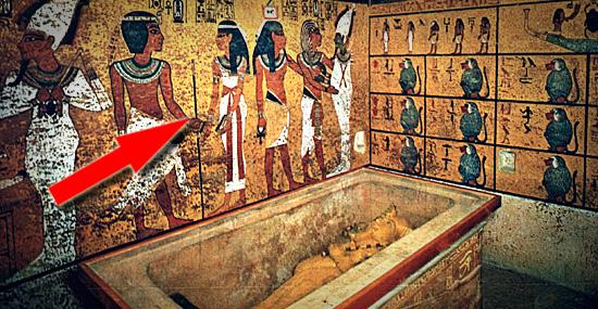 Tumba de Tutankhamon - o segredo por trás das paredes da cripta pode revelar segredo de Nefertiti