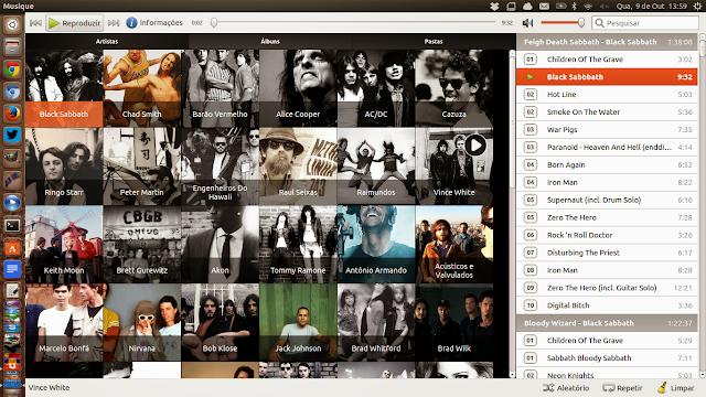 Musique no Ubuntu