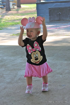 Minnie Mouse t-shirt, Minnie Mouse ears for toddler