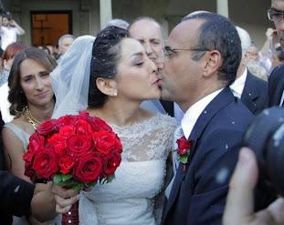 Carlo Conti e Francesca Vaccaro sposi