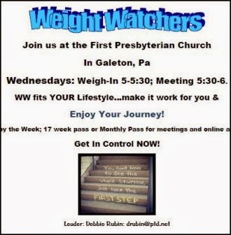Wednesdays--Weight Watchers-Galeton
