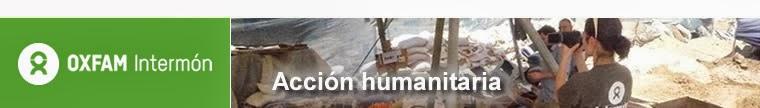 Oxfam Intermón Acción Humanitaria