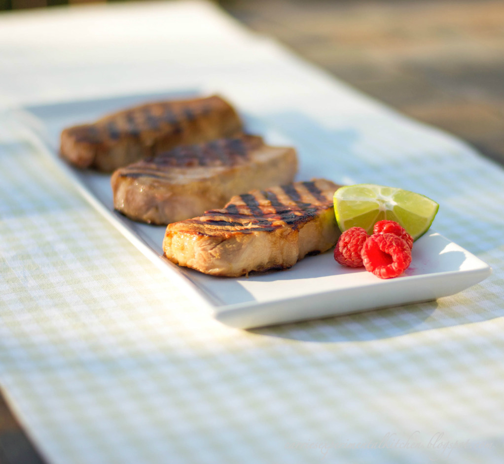 Pork Chops with Lime Marinade