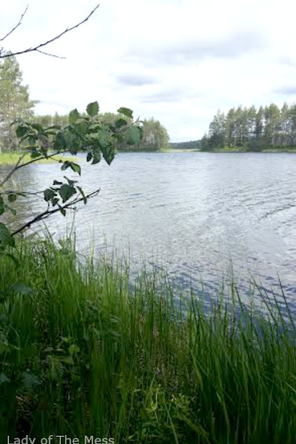 järvimaisema Pohjois-Karjalassa