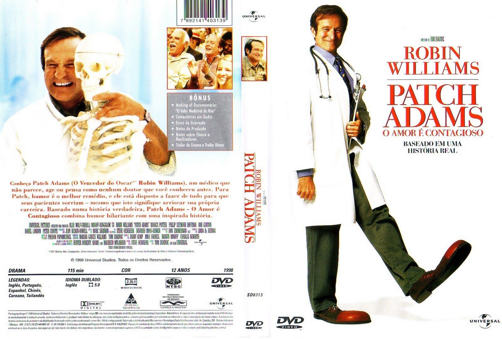 Patch Adams O Amor Contagioso 1998 dvdrip dublado