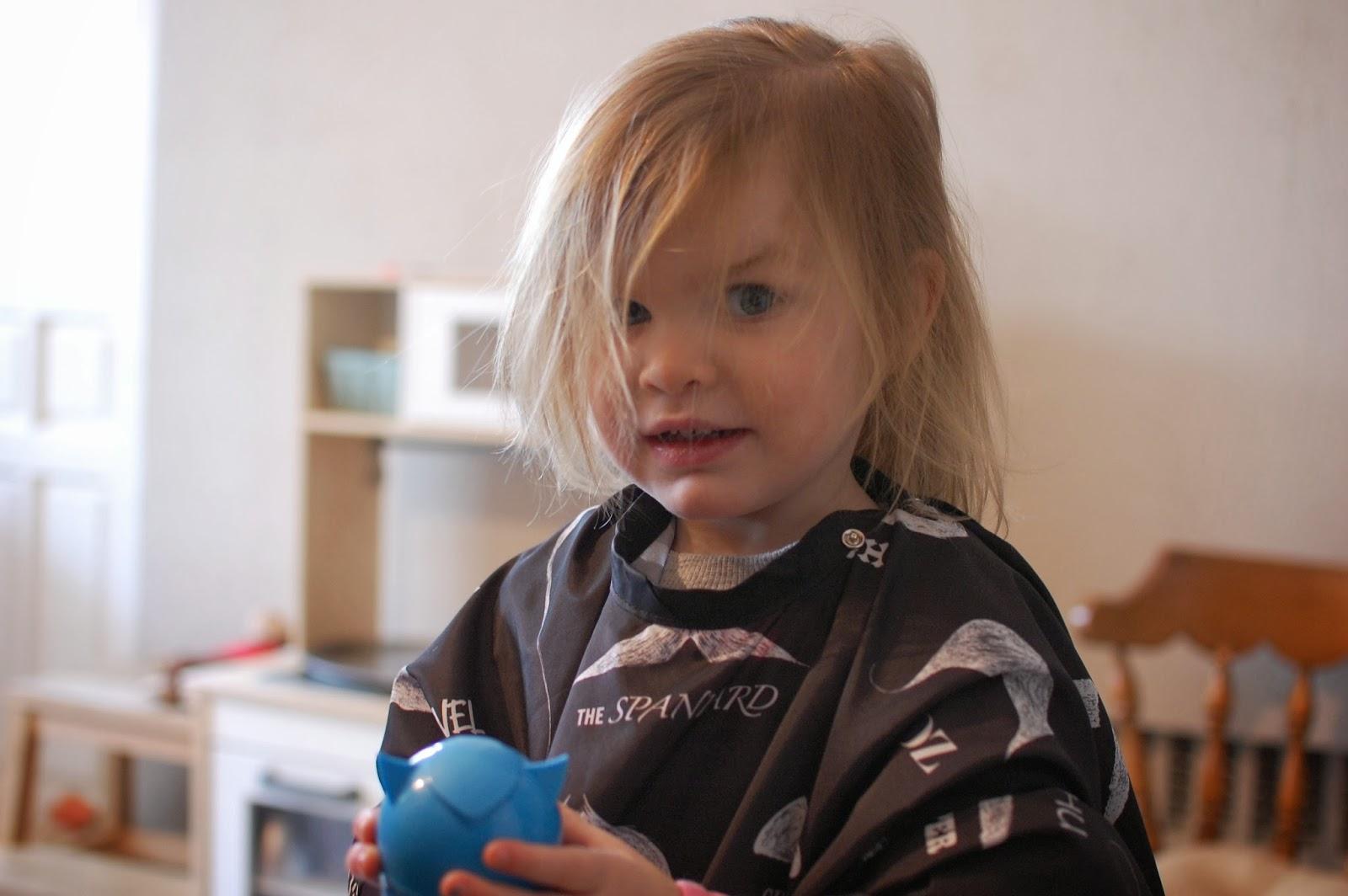 Heidis First Haircut