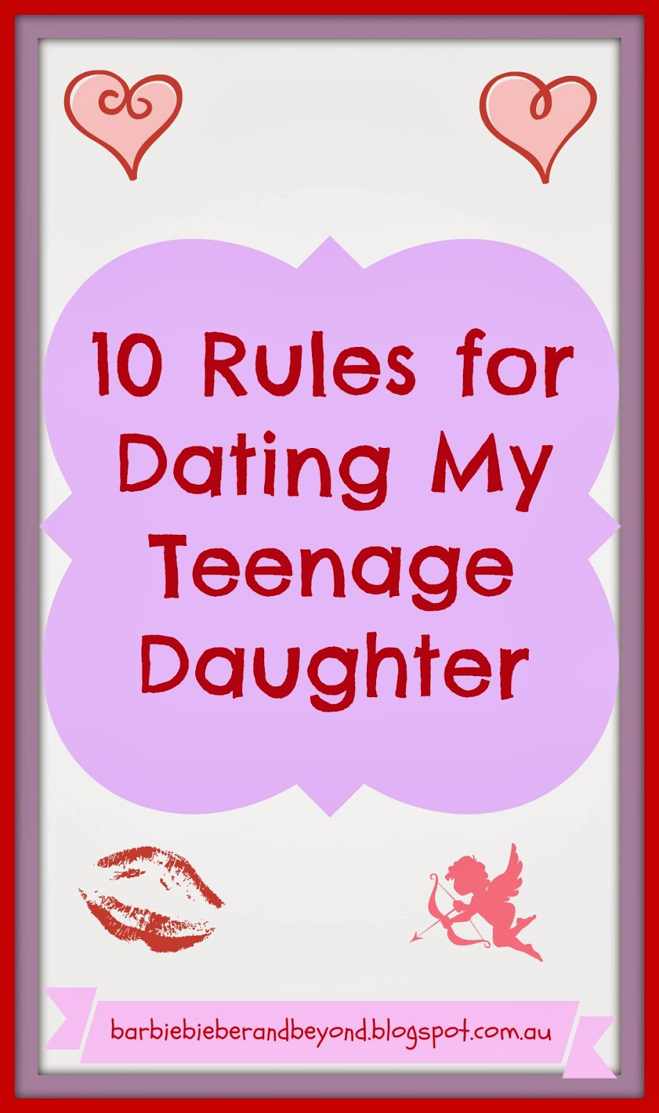 10 rules for dating my daughter funny 10 rules for dating my daughter rule one: if you pull into my driveway and honk you'd better be delivering a package, because you're sure not.