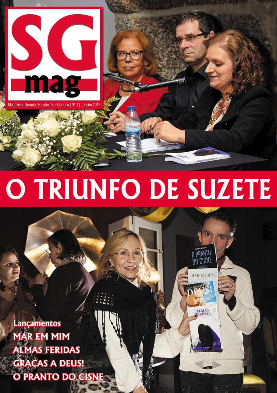 Lancei a «SG MAG» - Magazine Literário, uma nova revista literária, da qual sou Director e Editor