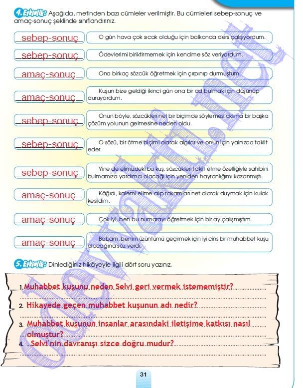 Etiketler: 7. sınıf Meb Yayınları Türkçe çalışma kitabi