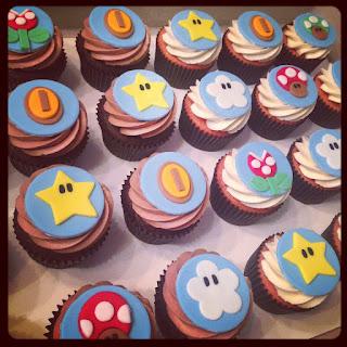 Cupcakes de Mario Bros