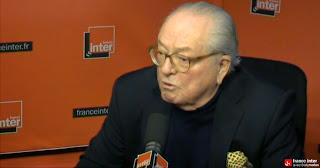 Jean-Marie Le Pen sur France Inter